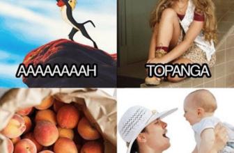 Aaaaaaah Topanga Bag of peaches mama