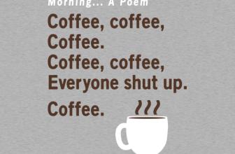 Coffee, a poem
